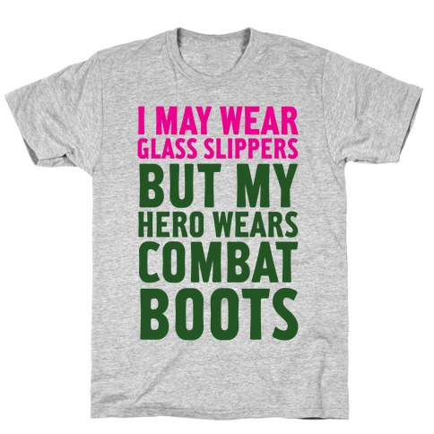 Glass Slippers & Combat Boots T-Shirt