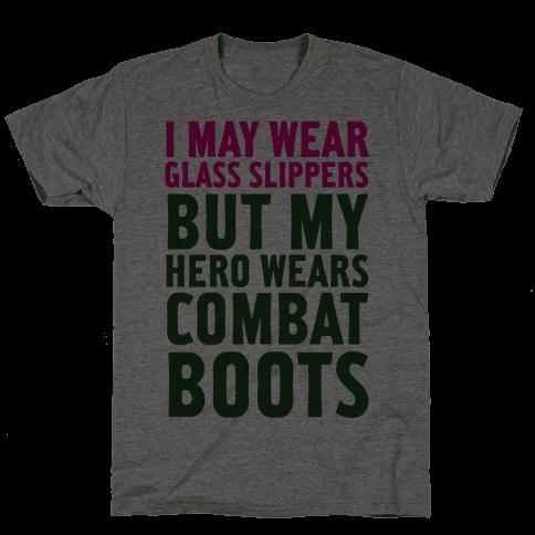 Glass Slippers & Combat Boots Mens T-Shirt