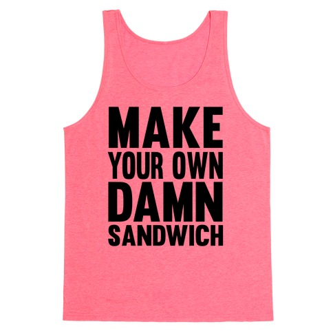 Make Your Own Tank Top