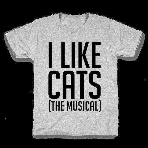 I Like Cats The Musical Kids T-Shirt