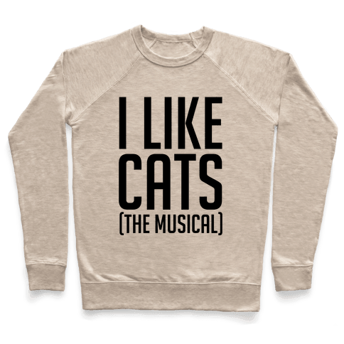I Like Cats The Musical Pullover