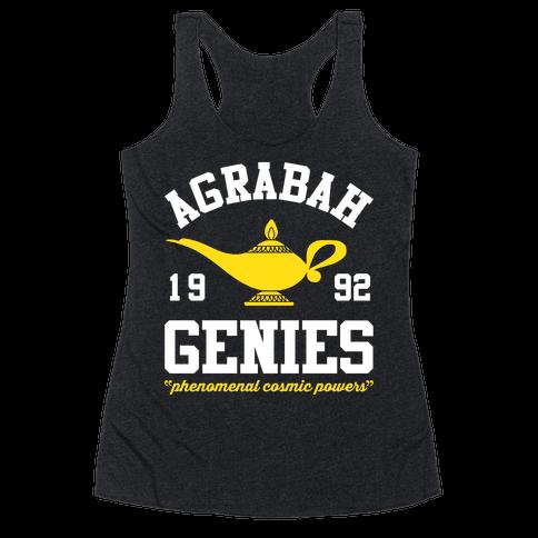 Agrabah Genies Racerback Tank Top