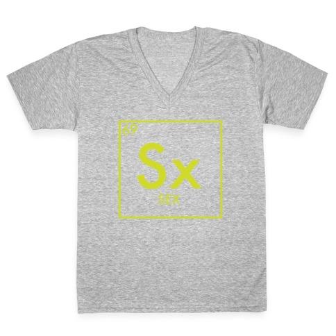 Sex Science V-Neck Tee Shirt