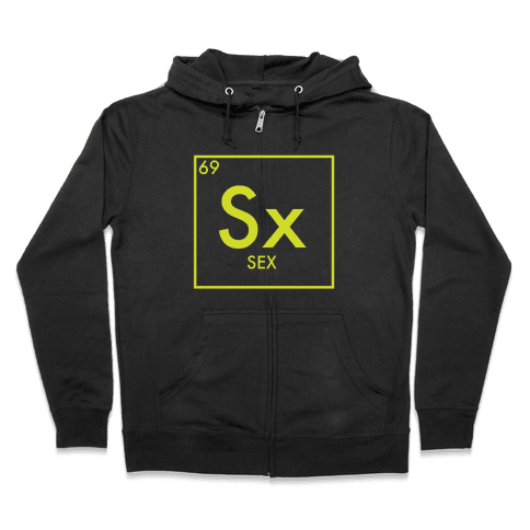 Sex Science Zip Hoodie