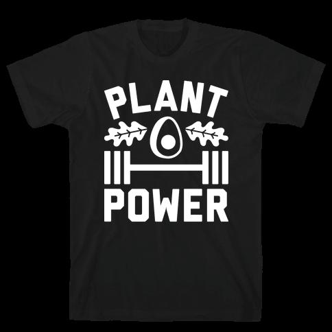 Plant Power Mens T-Shirt