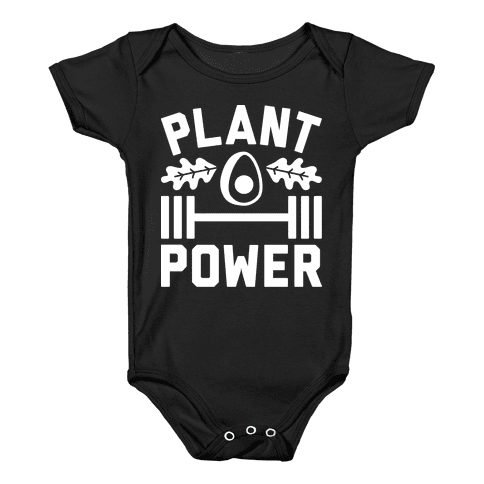 Plant Power Baby Onesy