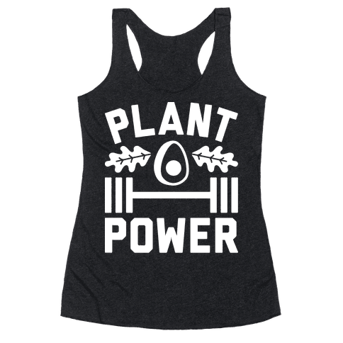 Plant Power Racerback Tank Top