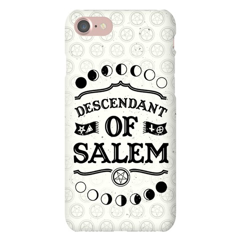 Descendent Of Salem Phone Case