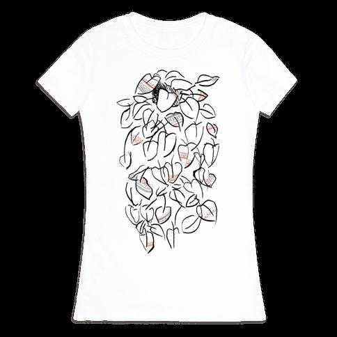 One Stylish Plant Womens T-Shirt