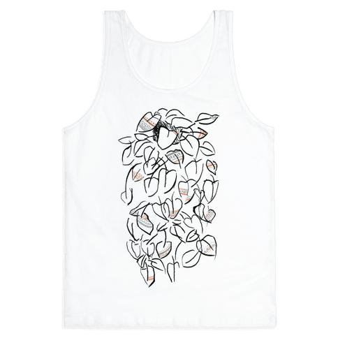 One Stylish Plant Tank Top