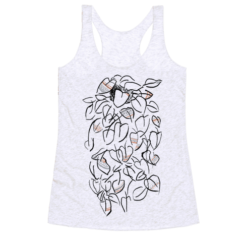 One Stylish Plant Racerback Tank Top