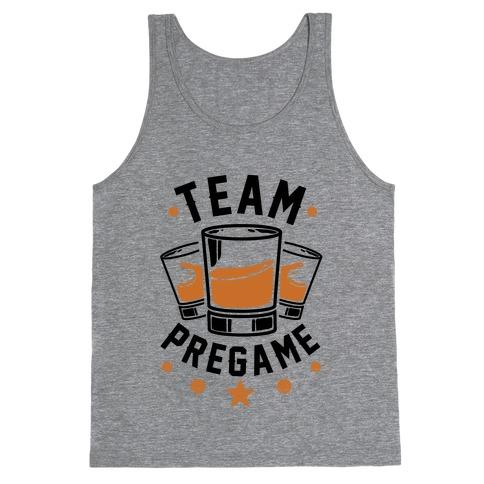 Team Pregame Tank Top