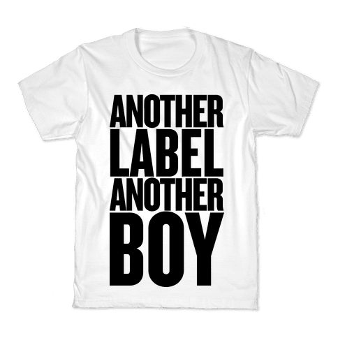 Another Label, Another Boy Kids T-Shirt