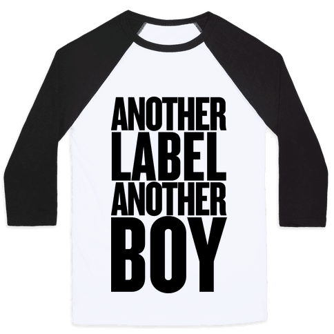 Another Label, Another Boy Baseball Tee