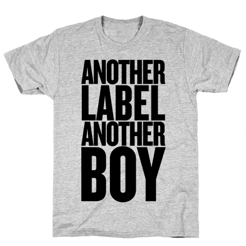 Another Label, Another Boy Mens T-Shirt