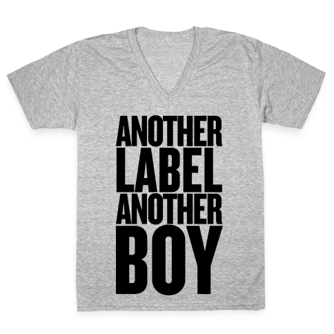 Another Label, Another Boy V-Neck Tee Shirt