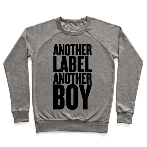 Another Label, Another Boy Pullover