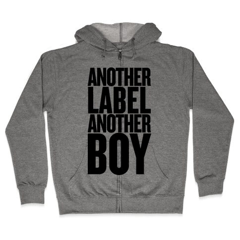 Another Label, Another Boy Zip Hoodie