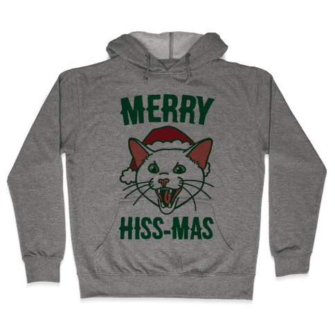 Merry Hiss-mas Hooded Sweatshirt