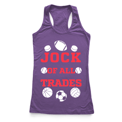 Jock Of all Trades Racerback Tank Top
