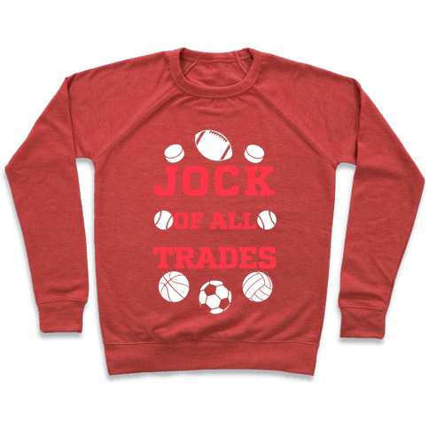Jock Of all Trades Pullover