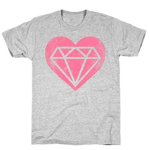 Diamond Heart (Forever) T-Shirt