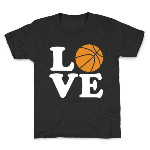 Love Basketball Kids T-Shirt