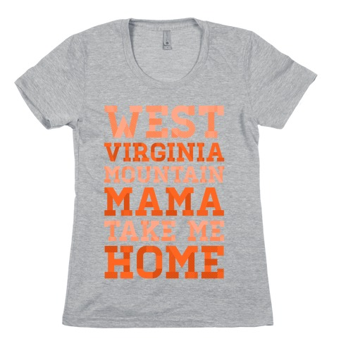 West Virginia, Mountain Mama Womens T-Shirt