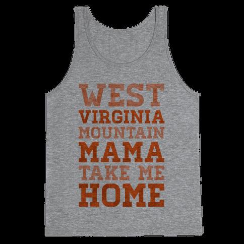 West Virginia, Mountain Mama Tank Top