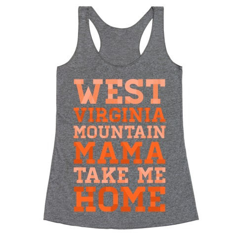 West Virginia, Mountain Mama Racerback Tank Top