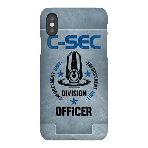 C-SEC Enforcement Unit Phone Case