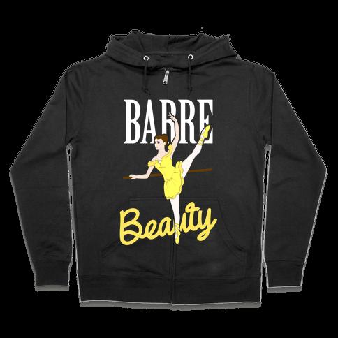 Barre Beauty Zip Hoodie