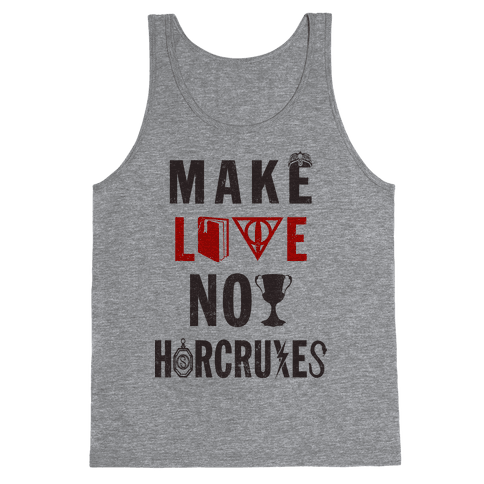 Make Love Not Horcruxes (Vintage Tank Tank Top
