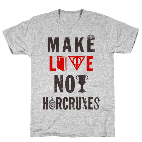 Make Love Not Horcruxes (Vintage Tank Mens T-Shirt