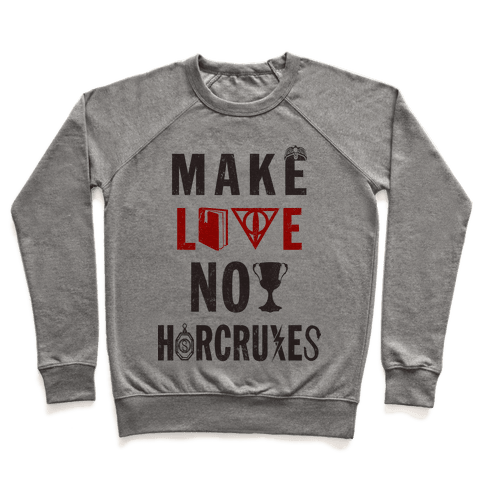 Make Love Not Horcruxes (Vintage Tank Pullover
