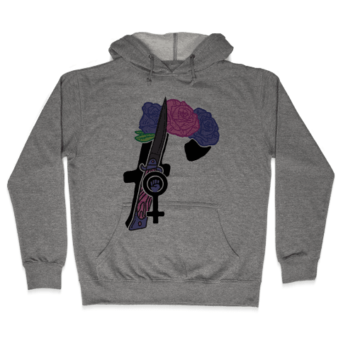 F Is For Feminism Hooded Sweatshirt