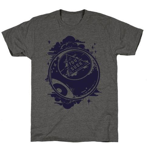 You Suck Magic 8-Ball Fortune T-Shirt