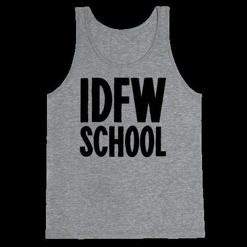 IDFW School Tank Top
