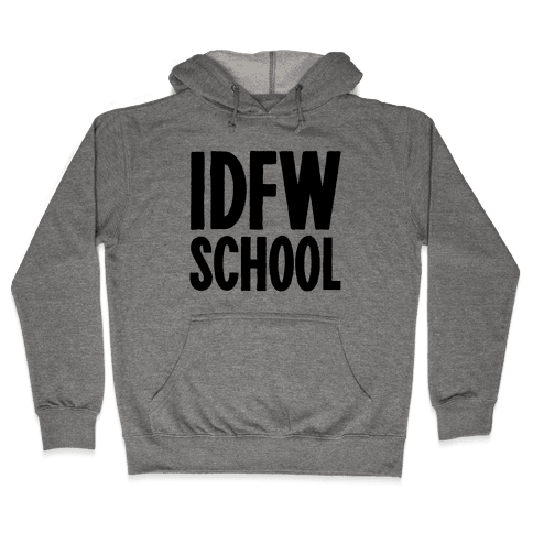 IDFW School Hooded Sweatshirt