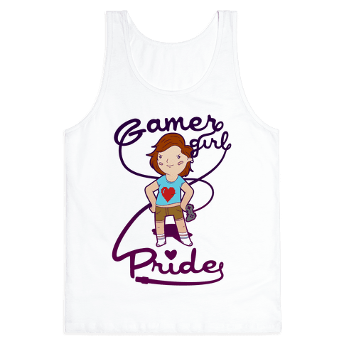 Gamer Girl Pride Tank Top