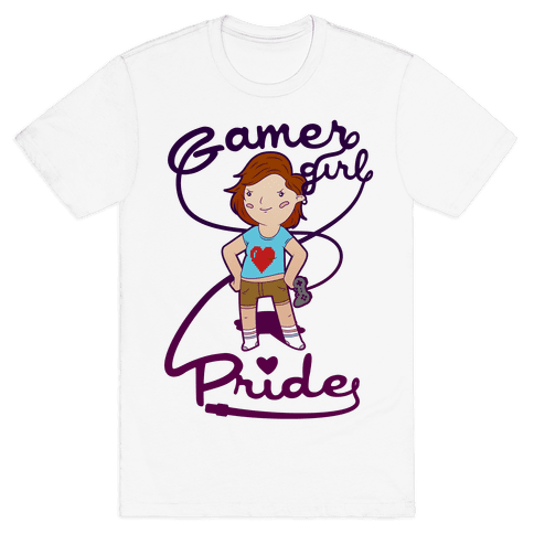 Gamer Girl Pride Mens T-Shirt