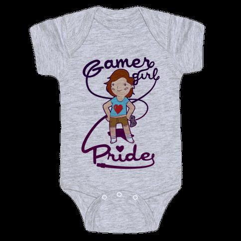 Gamer Girl Pride Baby Onesy