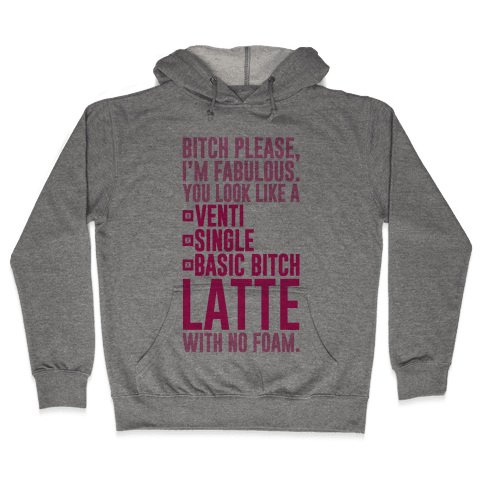Basic Bitch Latte Hooded Sweatshirt
