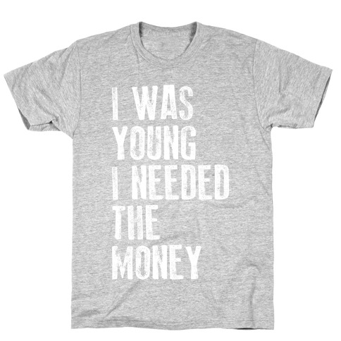 I Was Young (V-Neck) T-Shirt