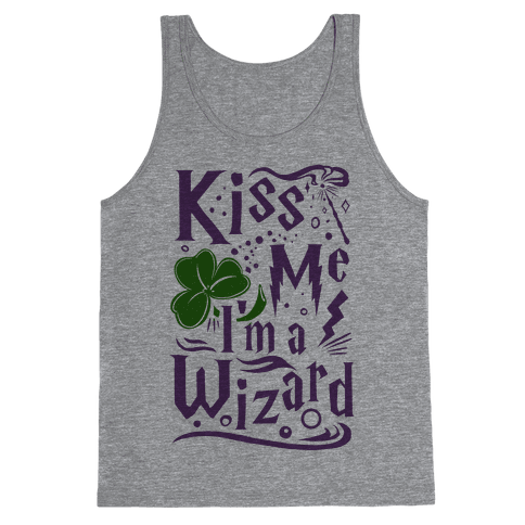 Kiss Me! I'm a Wizard! Tank Top