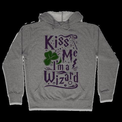 Kiss Me! I'm a Wizard! Hooded Sweatshirt
