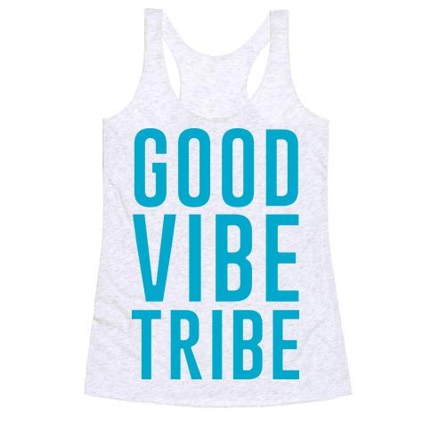 Good Vibe Tribe Racerback Tank Top