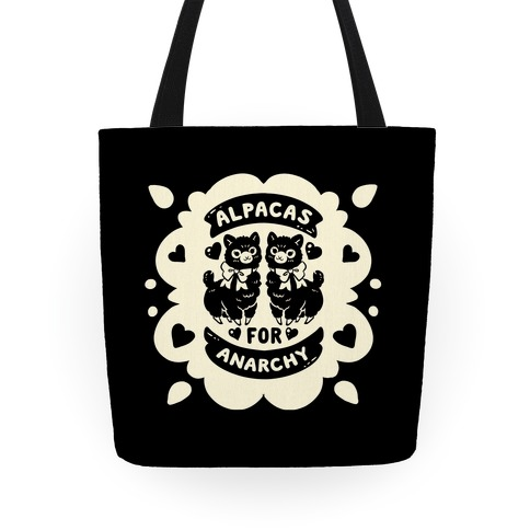 Alpacas For Anarchy Tote