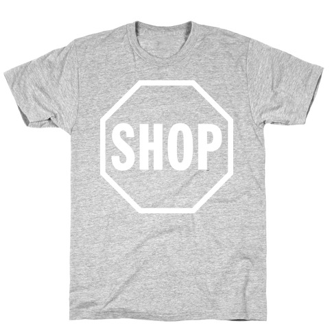 Stop And Shop Mens T-Shirt