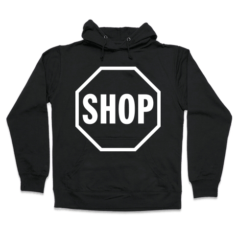 Stop And Shop Hooded Sweatshirt